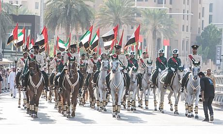 National Day parade in Dubai