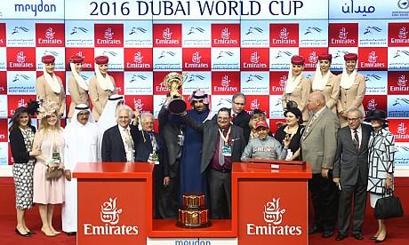 California Chrome wins Dubai World Cup 2016 - pictures