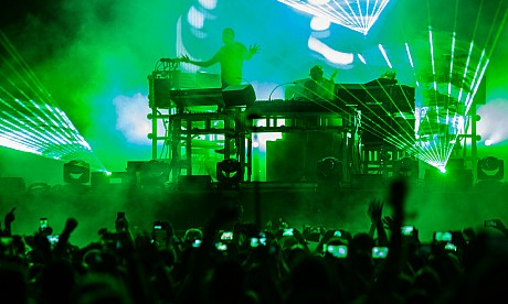 The Chemical Brothers concert pictures - F1 Abu Dhabi