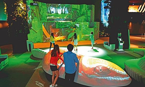 Indoor nature museum in the UAE