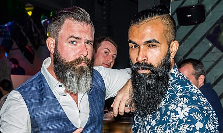 The Beard-Off 2017 at Lucky Voice – pictures