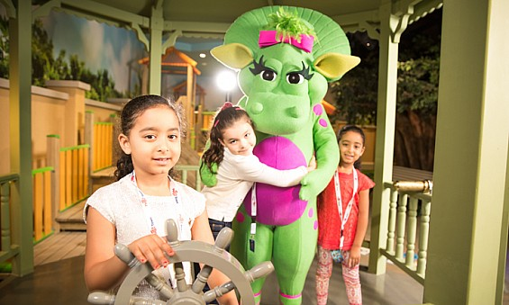 Drop the kids off at Mattel Play! Town this weekend