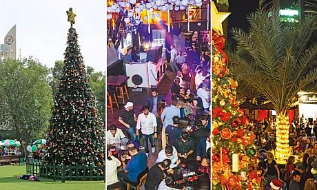 Dubai's Christmassiest bars
