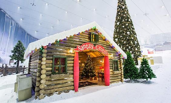 Frozen's Olaf brings a white Christmas to Ski Dubai