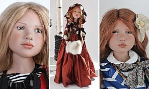 Lifelike dolls at Dubai Parks And Resorts