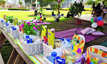 Party in the park in Dubai