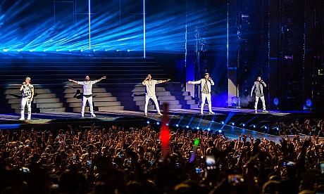 Backstreet Boys Live in Dubai – pictures