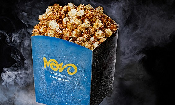 NOVO Cinemas to add guest popcorn flavours
