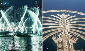 Dubai is getting another dancing fountain