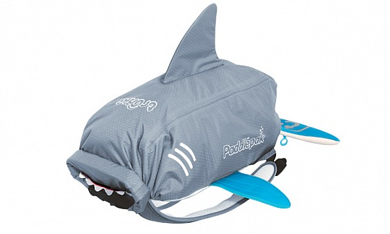 Shark backpack, Dhs145,...