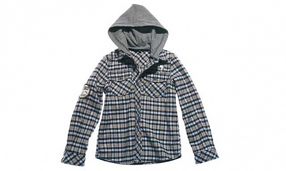 Hooded shirt, Dhs240, Benetton