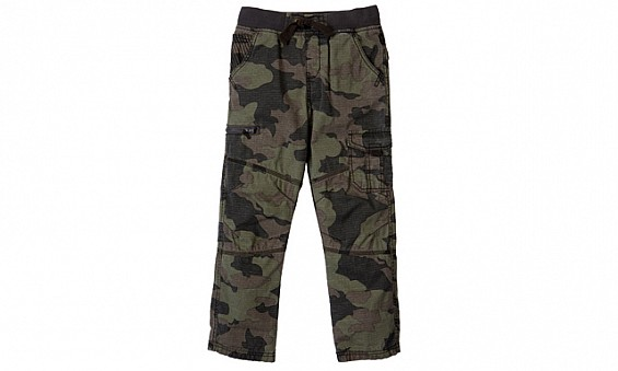 Camouflage zip cargo...