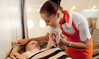 Etihad flying nanny service