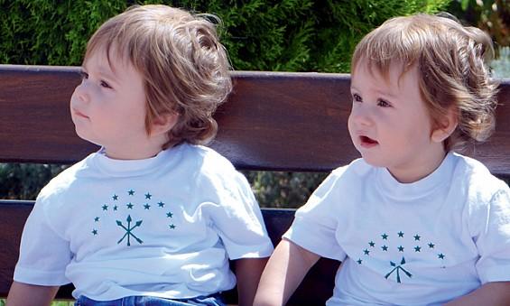 Thirteen-month old twins...