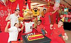 Ferrari World parties in Abu Dhabi