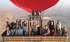 Hot air ballooning over the UAE