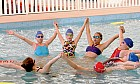 Synchronised swimming in Dubai