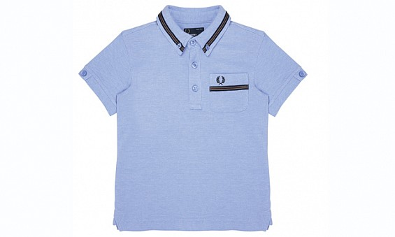 Grosgrain polo shirt,...