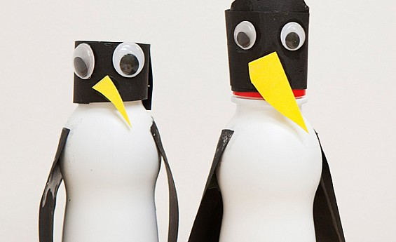 3D penguin pencil holder...