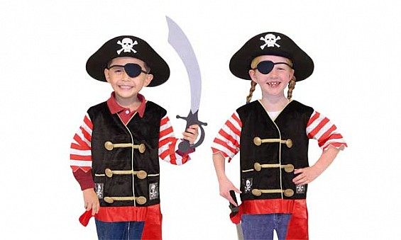 Pirate costume, Dhs139 from...