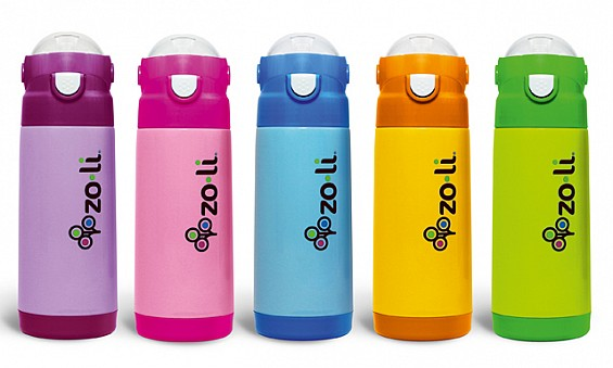Zoli water bottles, Dhs114...