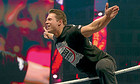 WWE star The Miz in Abu Dhabi